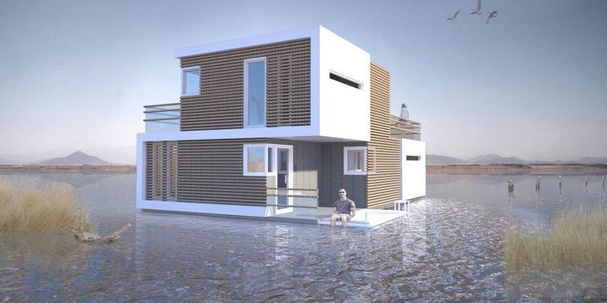 Овој проект освојува дизајнерски награди: Куќа која може лесно да се подели во случај на развод