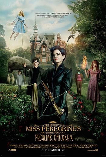 (5) Филм: Домот за необични деца на госпоѓица Перегрин (Miss Peregrine's Home for Peculiar Children)