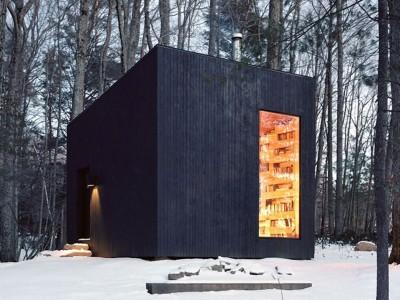 Сон на сите љубители на книги: Изолирана библиотека скриена во длабочините на шумите