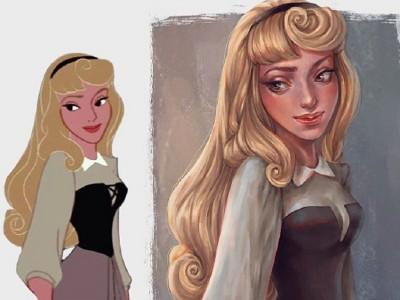 Талентирана уметница има вдахнува живот на ликовите од бајките и цртаните филмови
