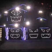Епско светлосно шоу за Ноќта на вештерките