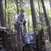 Направете сами: Засолниште за двајца за во шума