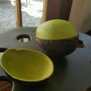 Прецизно пресечено авокадо