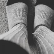 Носење на најтоплите чорапи