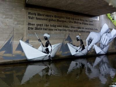 Неверојатна улична уметност каква што не сте виделе досега