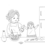 Среќна е да го готви за вас она што го сакате