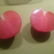 Совршено пресечен домат