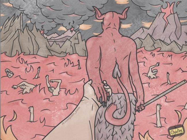 Саркастични илустрации што совршено го отсликуваат модерното општество