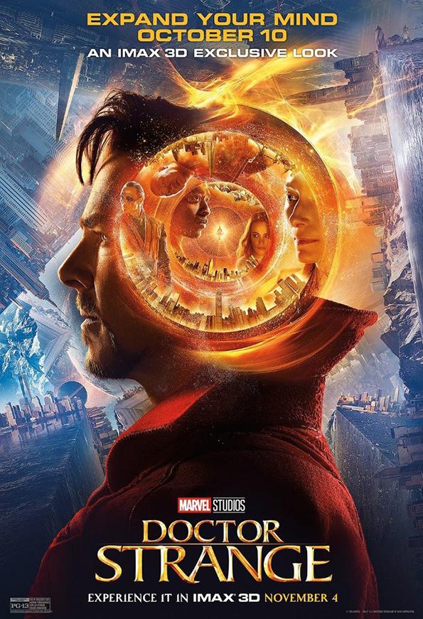 (1) Филм: Доктор Стрејнџ (Doctor Strange)