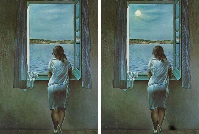 (1) Само гении можат да ги најдат разликите во овие фотографии