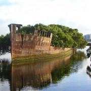 100 години стар брод во Сиднеј, Австралија