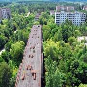 Напуштен радиоактивен град, Украина