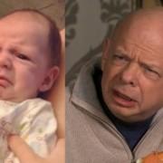 Уште едно бебе кое личи на Валас Шон