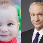Ова бебе потсетува на комичарот Бил Маер