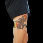 Мало коњче, инспирација од анимирана серија