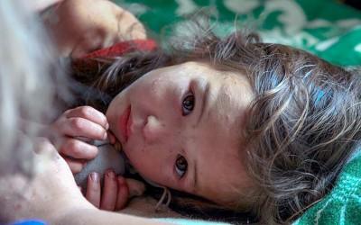 3-годишно девојче се изгубило во шума, но преживеало благодарение на нејзиниот необичен заштитник