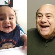 Бебе кое личи на Дени де Вито