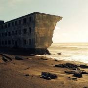 Рушевини од рибарски град во Русија