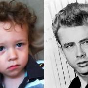 Актерот Џејмс Дин има нешто заедничко со ова мало дете