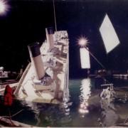 Вака всушност изгледало тонењето на бродот во реалноста