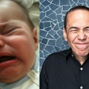 Бебе наликува на комичарот Гилберт Готфрид