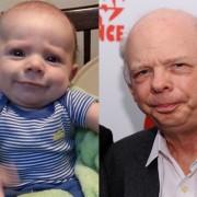 Изразот на бебето наликува на Валас Шон