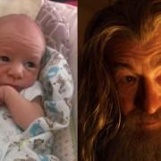Бебето наликува на Гандалф