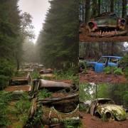 """""""Гробишта"""" на автомобилите, Белгија"""