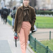 Street Style : Paris Fashion Week -Haute Couture- Spring/Summer 2016  : Day Three