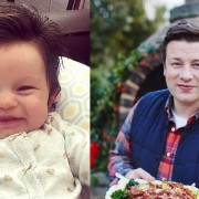 Бебето Изабела личи на Џејми Оливер како малечок