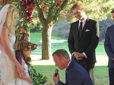Младоженец напишал прекрасен свадбен завет за неговата 5-годишна поќерка