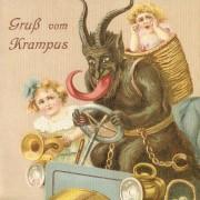 Поздрави од Крампус (суштество кое е полу-маж, полу-демон)