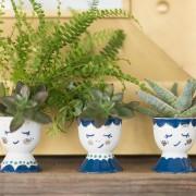 Направете сами уникатен подарок: Посадете растенија во интересни садови