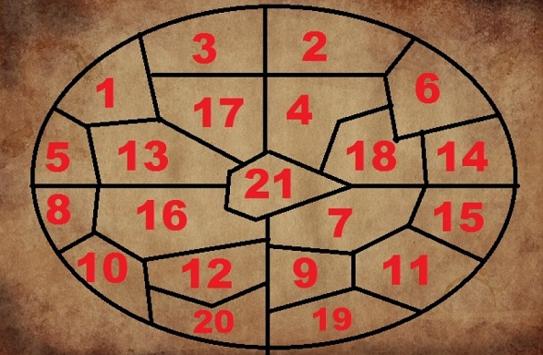 NOSTRADAMUS 1-odgovor-na-vasheto-prashanje-za-idninata-vi-dava-ovoj-krug-na-nostradamus-mapa-so-volshebni-broevi-koja-gi-reshava-vashite-dilemi