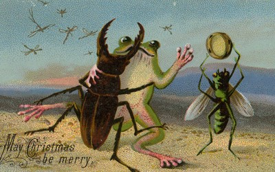 Најбизарните викторијански божиќни честитки што некогаш сте ги виделе!