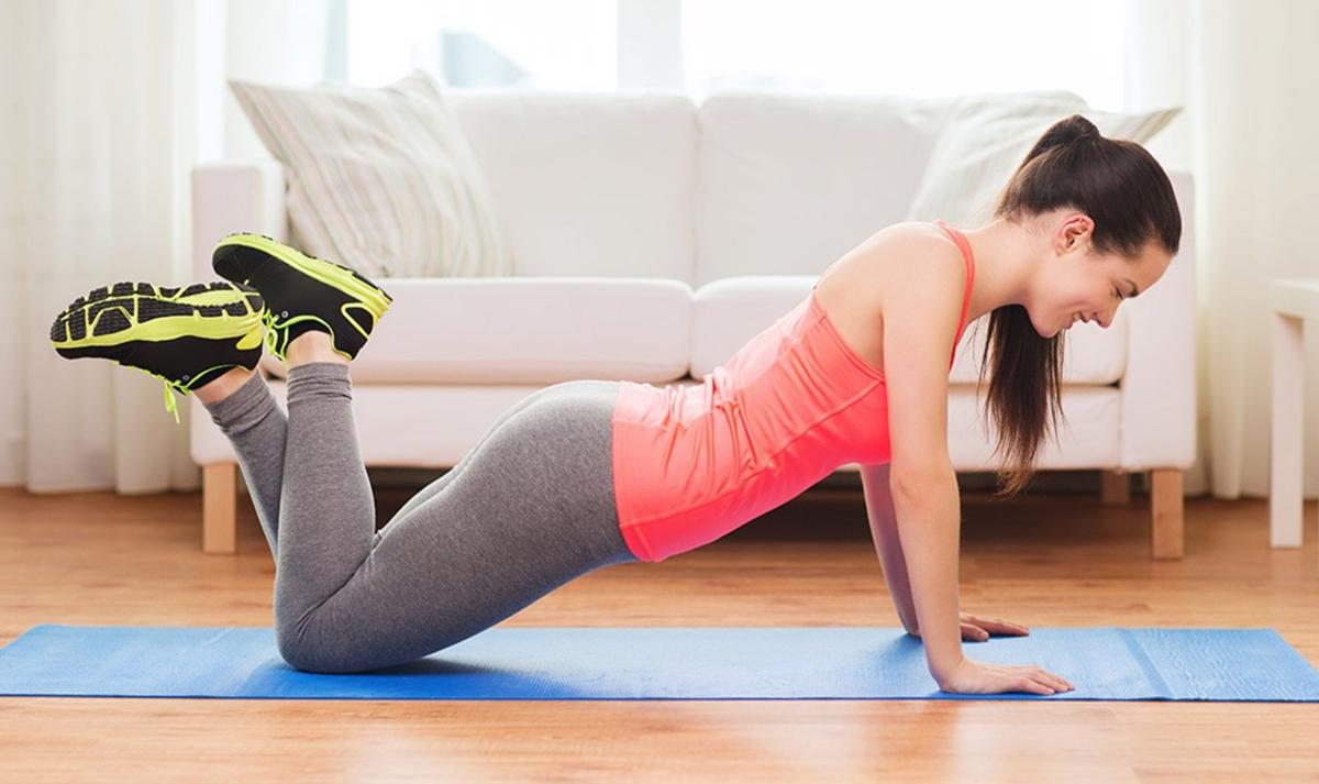 Доволно е да вежбате само еднаш неделно за да забележите промена!