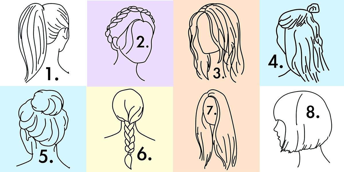(1) Плетенка, пунџа или коњско опавче: Што зборува за вас вашата секојдневна фризура?