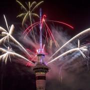 Окленд во Нов Зеланд беше првиот поголем град кој влезе во 2017 година