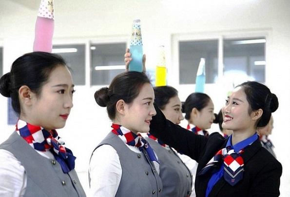 Еве како изгледа обуката за стјуардеси во Кина