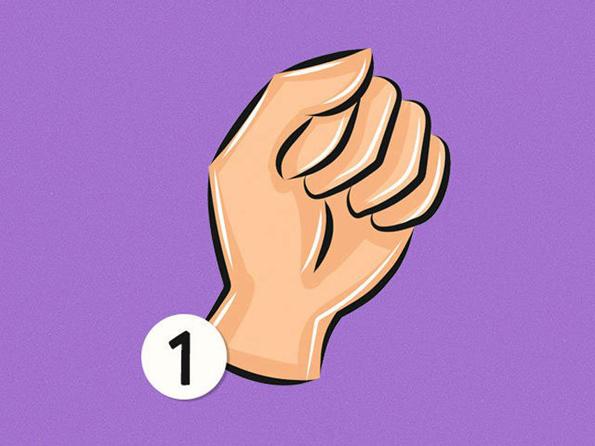 Стиснете ја дланката во тупаница и дознајте интересни податоци за вашиот карактер