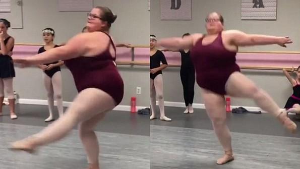 (2) Запознајте ја Лизи Хауел, балерината што ги руши сите стереотипи