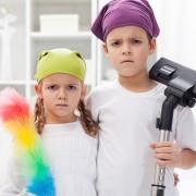 (1) Децата чии родители ги тераат да помагаат по дома се поуспешни