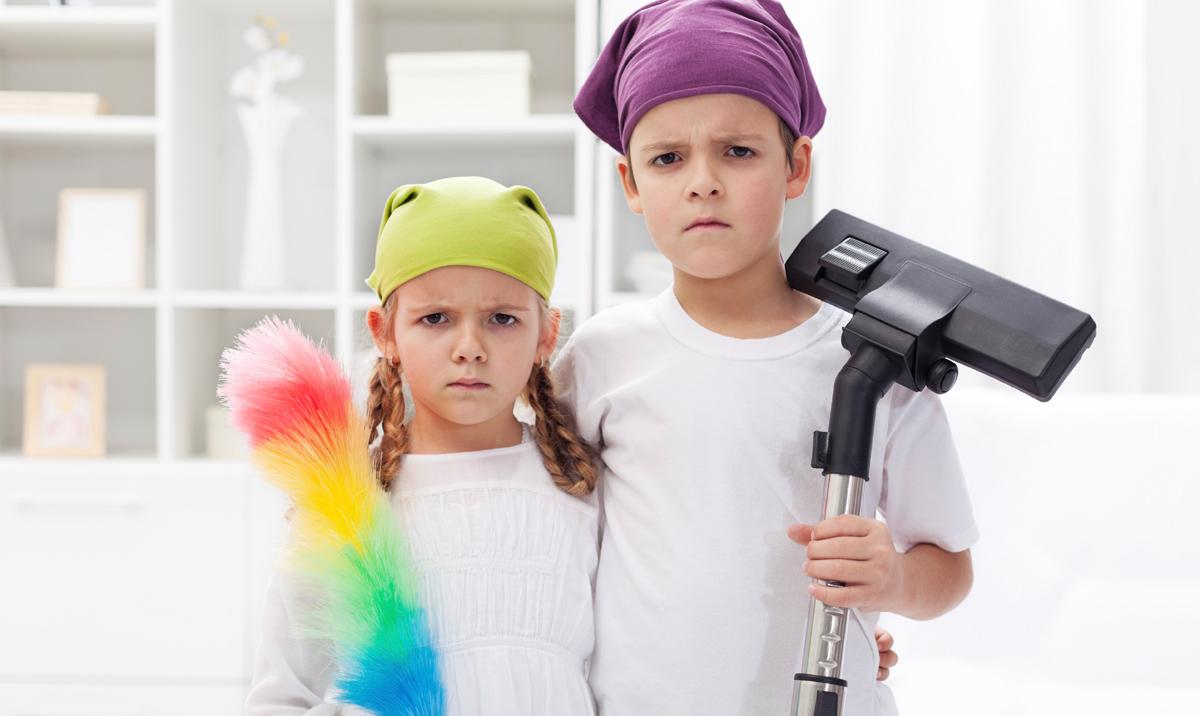 Децата чии родители ги тераат да помагаат по дома се поуспешни