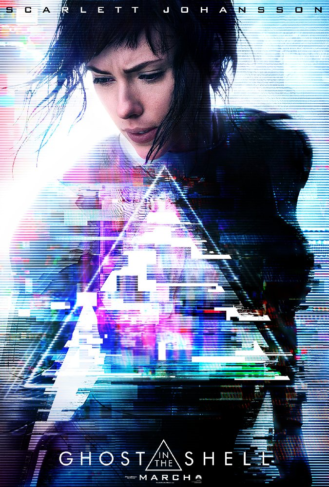 (1) Филм: Дух во школка (Ghost in the Shell)