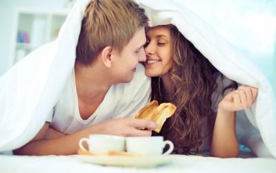 Како им почнува денот на најсреќните љубовни парови?