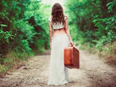 Силните девојки се одмаздуваат на тој начин што заминуваат без да се свртат назад