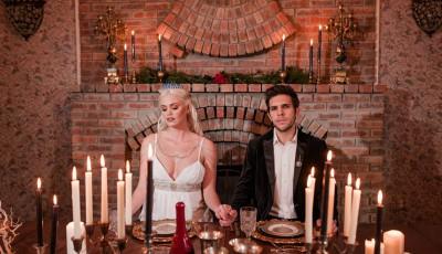 """Волшебна венчавка инспирирана од серијата """"Игра на тронови"""""""
