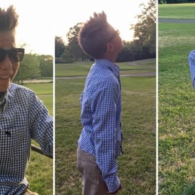 Eмотивно видео: 10-годишно дете гледа бои за прв пат
