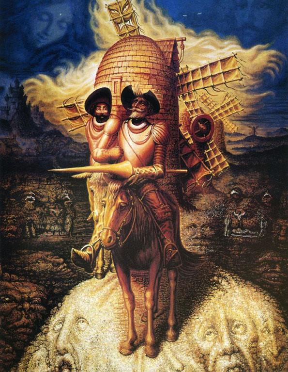 Оптичка илузија: Колку лица гледате на уметничката слика?