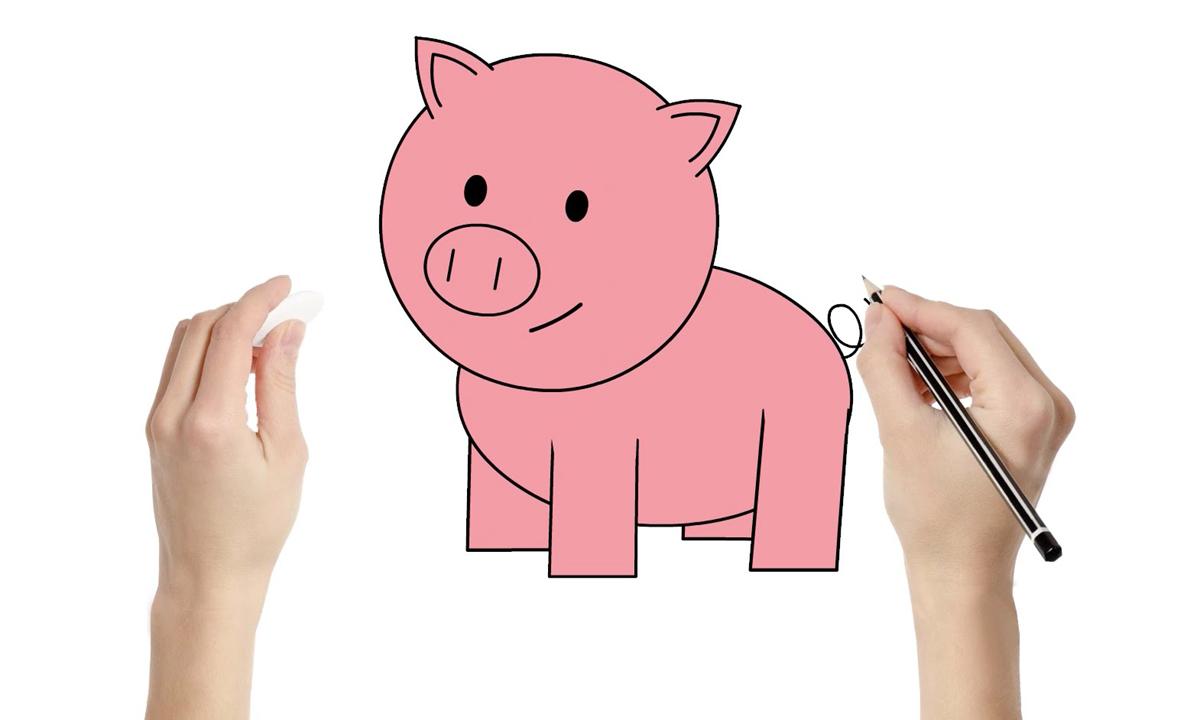 Нацртајте прасе и дознајте повеќе за вашиот карактер